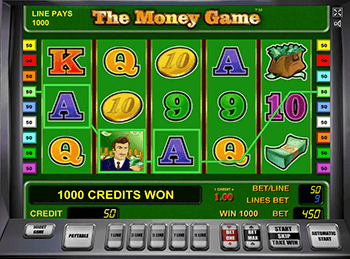 The Money Game в Вулкан Делюкс